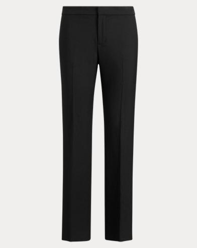 Tuxedo-Stripe Twill Pant