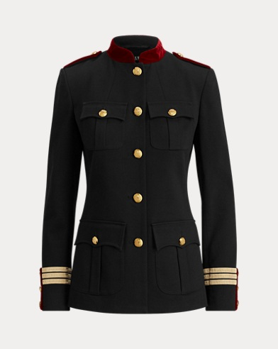 Cotton-Blend Admiral Jacket