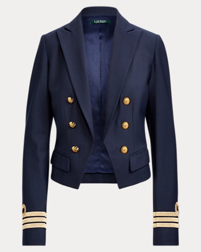 Twill Military Jacket