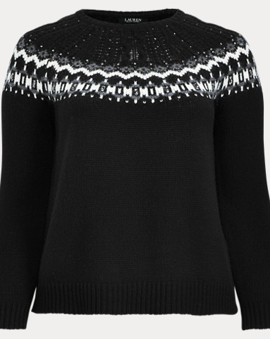 a6e1398383175 Wool-Blend Sweater. Take 30% off. Lauren Woman