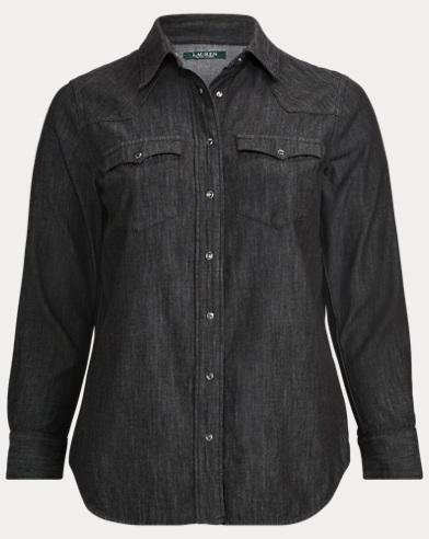 Denim Western Shirt