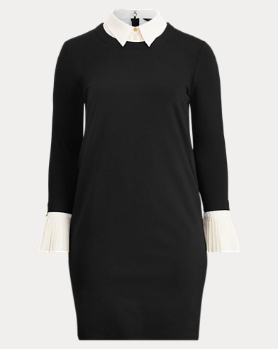 Layered Ponte Shift Dress