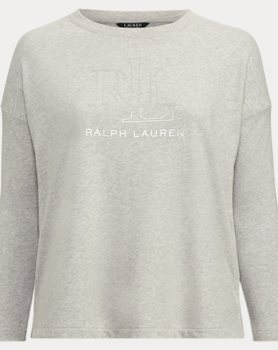 LRL Terry Pullover Sweater