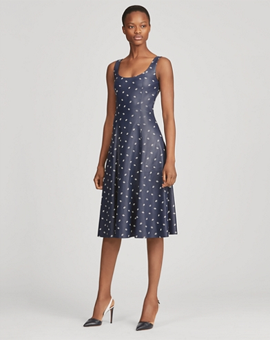 Luiza Leather Dress