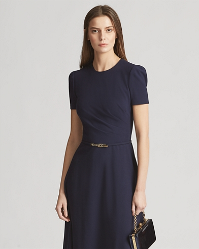 Eldridge Wool-Blend Dress