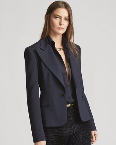 Kristina Wool-Silk Jacket