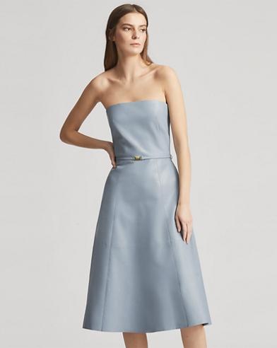 Sonnet Lambskin Dress