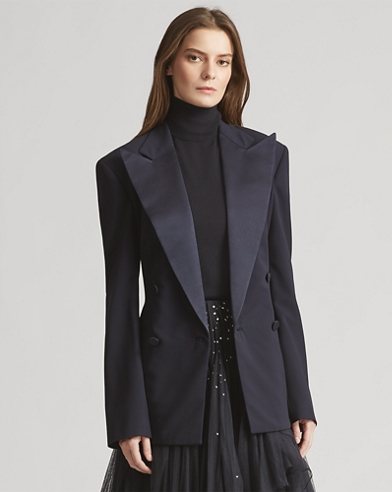 Chrystie Wool-Blend Jacket