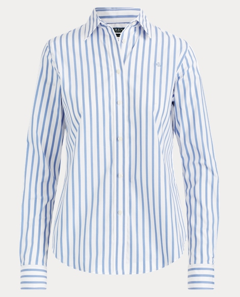Striped Button-Down Shirt