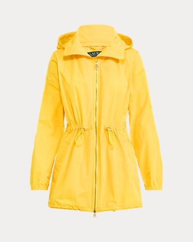Water-Repellent Zip Jacket