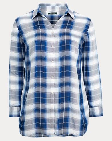 Plaid Twill Shirt