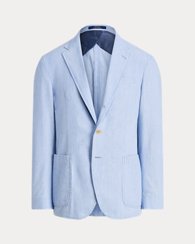 Morgan Chambray Suit Jacket