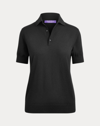 Slim Fit Cashmere Polo Shirt