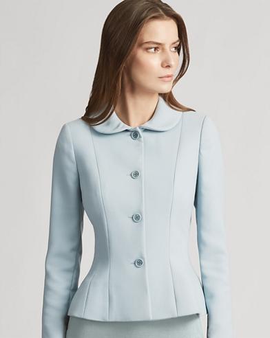 Carolyn Wool-Silk Jacket