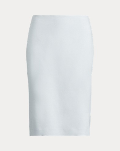 Cindy Wool-Silk Skirt