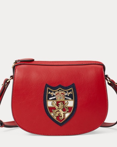 5aeaf32f6f53 Bullion-Patch Leather Mini Bag. color (2)  Scarlet · Vanilla. Polo Ralph  Lauren