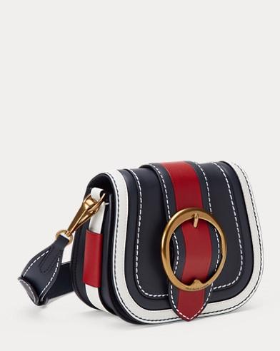 a523f73d1531 Color-Block Leather Lennox Bag. Polo Ralph Lauren