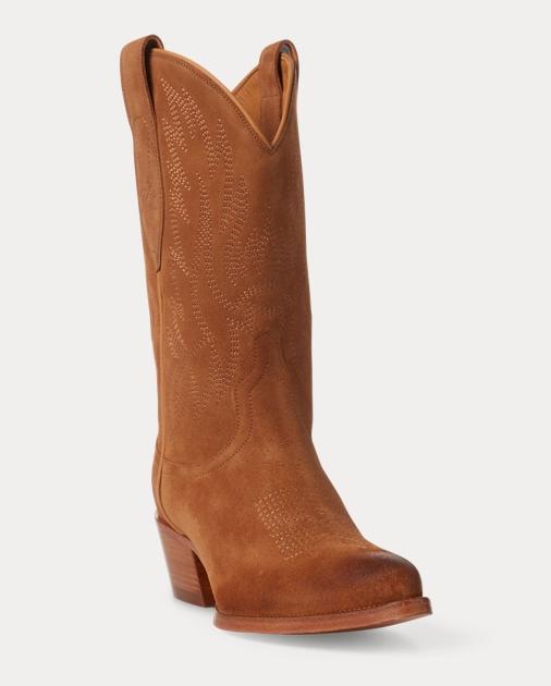 f51642fbf2 Dayna Suede Cowboy Boot