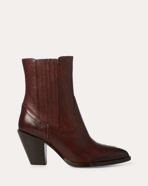 Lowrey Leather Cowboy Boot