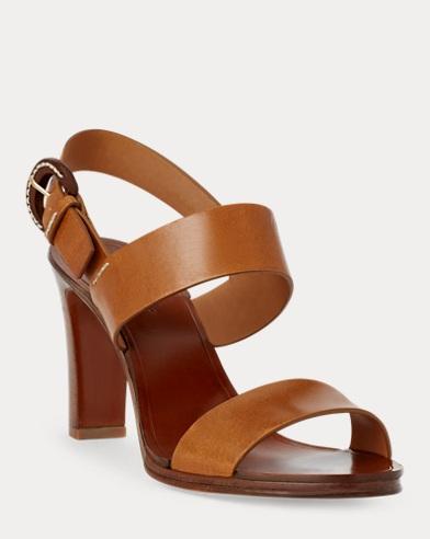 Amabella Leather Sandal
