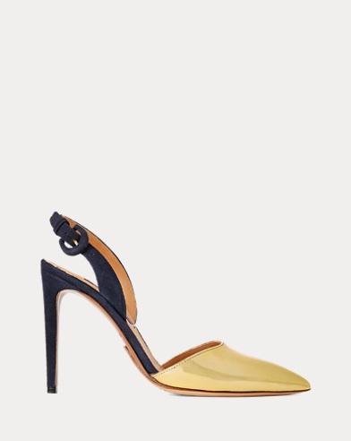 Sandale Ceceley aus Specchio-Leder
