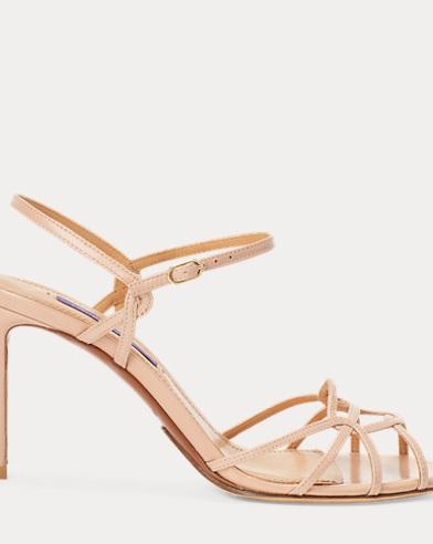 Aralyn Goatskin Sandal