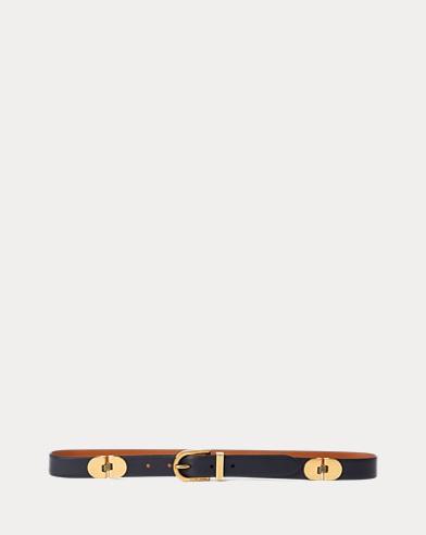 Hinged Calfskin Belt