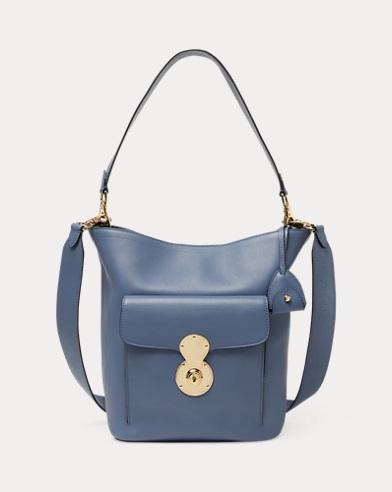 Calfskin RL Bucket Bag