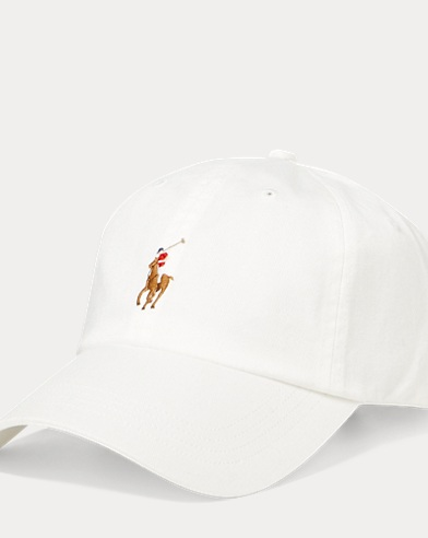 994d0f5c Cotton Twill Baseball Cap. Polo Ralph Lauren. Cotton Twill Baseball Cap
