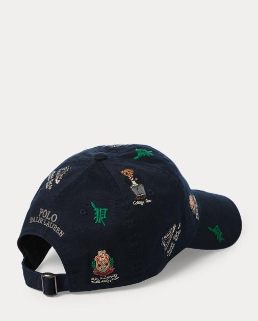 c69d535426f5a Polo Ralph Lauren College Bear Baseball Cap 2