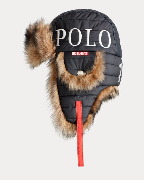 a8fc656c6eaa6 Polo Ralph Lauren Winter Stadium Earflap Hat 1