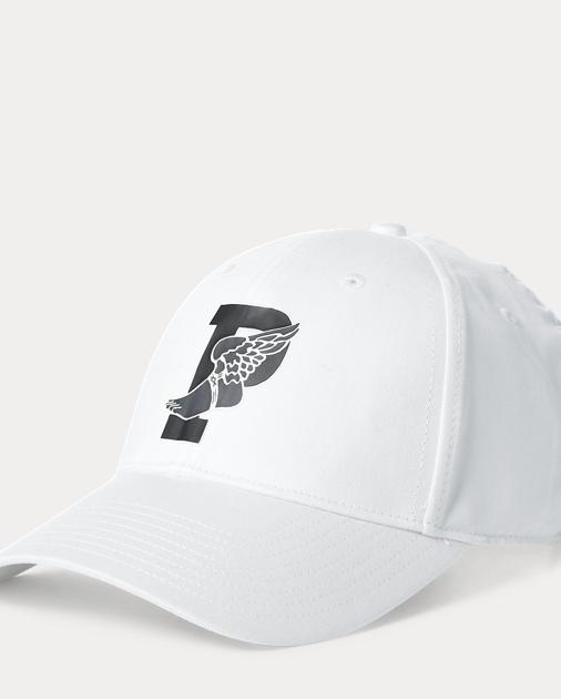 f8171b012fec31 Polo Ralph Lauren Kappe mit geflügeltem P-Logo 1