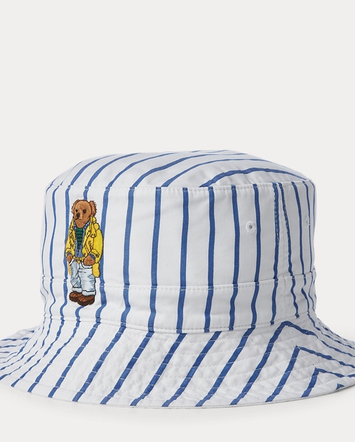 ab3906ff567 Polo Ralph Lauren Reversible Crested Bucket Hat 1