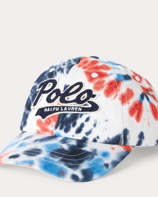 1cd854614 Polo Ralph Lauren Tie-Dye Cotton Twill Cap 1