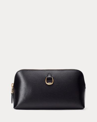 Saffiano Leather Cosmetic Case