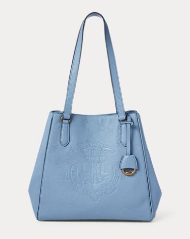 Mittelgroße Ledertragetasche