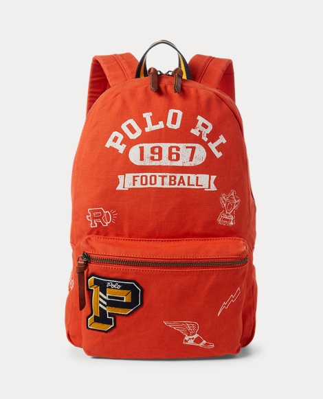 Football Cotton Backpack