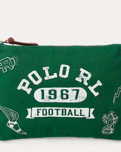 Polo Football Cotton Pouch