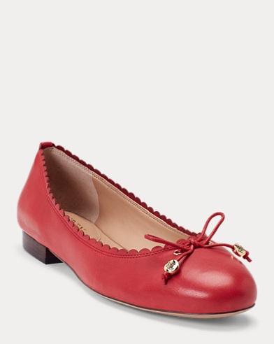 Glennie Leather Flat