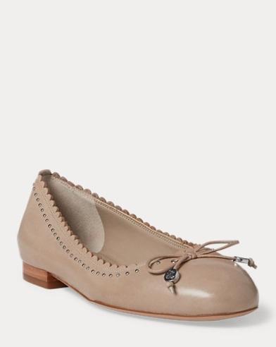 Glennie III Leather Flat