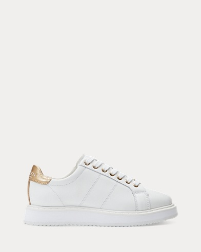 Angeline Leather Trainer