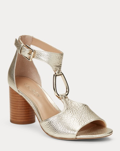 Elesia Leather Sandal