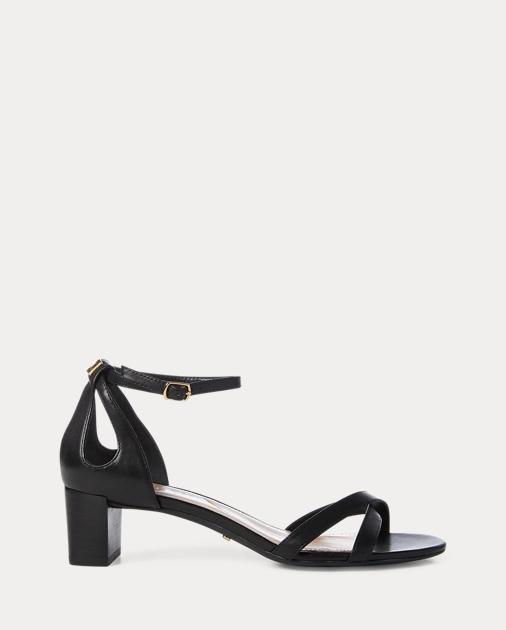 8de07a84265 Lauren Folly Leather Sandal 1