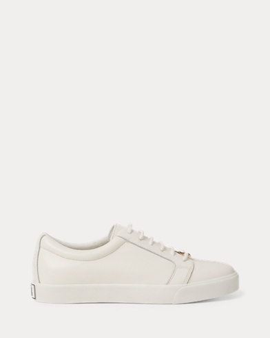 Reaba Leather Trainer