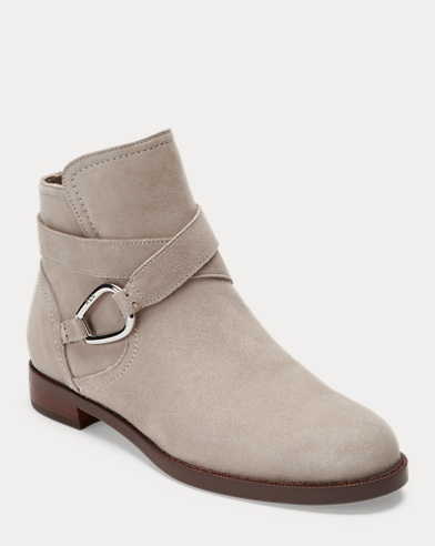 Bottines Hermione en daim