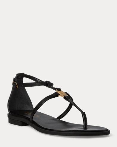 0ff87fa0350 Nalaine Leather Sandal