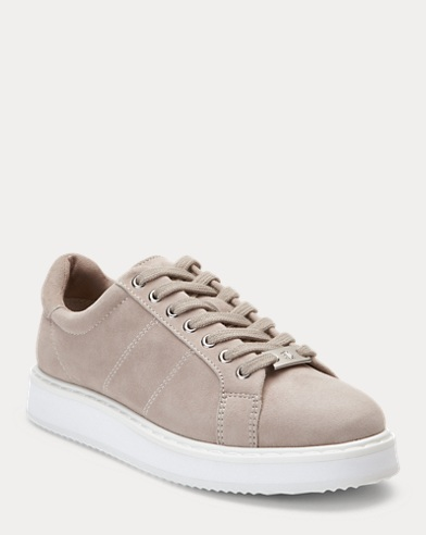 Angeline Suede Trainer