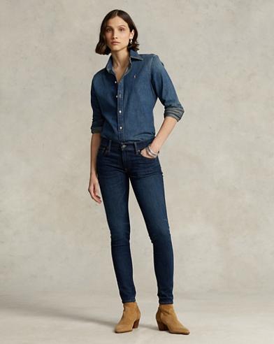 a88d45fedb7 Women's Designer Jeans in Skinny & Straight Leg | Ralph Lauren