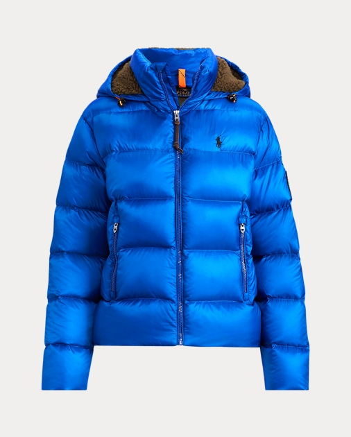 Ralph Lauren Down Polo Électrique Bleu Jacket 65 Doudoune