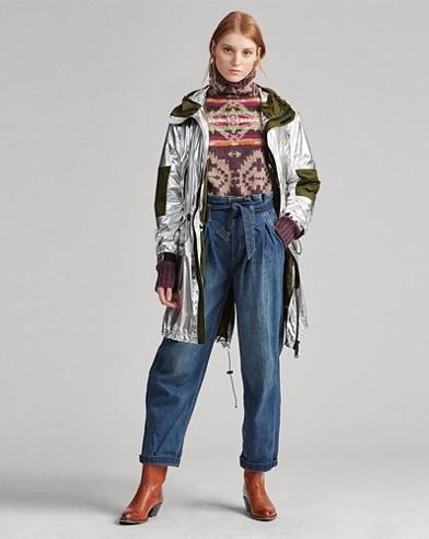 Foil Windbreaker Jacket